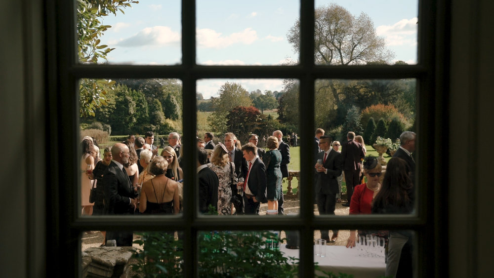 guests enjoying the sun at Brympton House