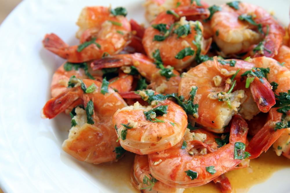 Spicy Garlic Butter Shrimp