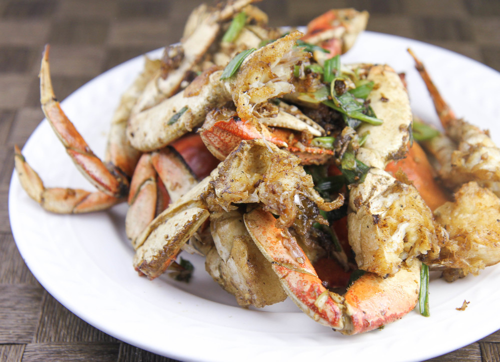 Salt & Pepper Crab (Cua Rang Muoi)