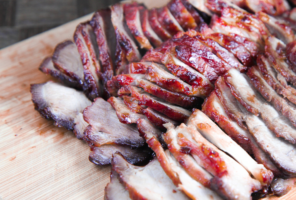Sliced Vietnamese Barbecue Pork (Xa Xiu)