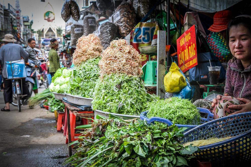 Market in Bien Hoa, Vietnam