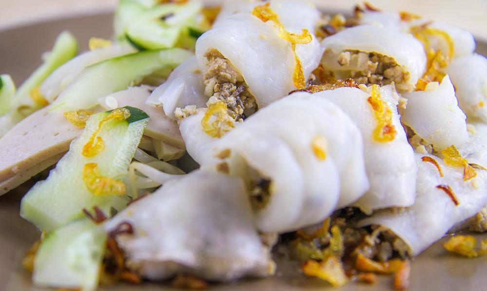 Vietnamese Steamed Rice Rolls Vicky Pham