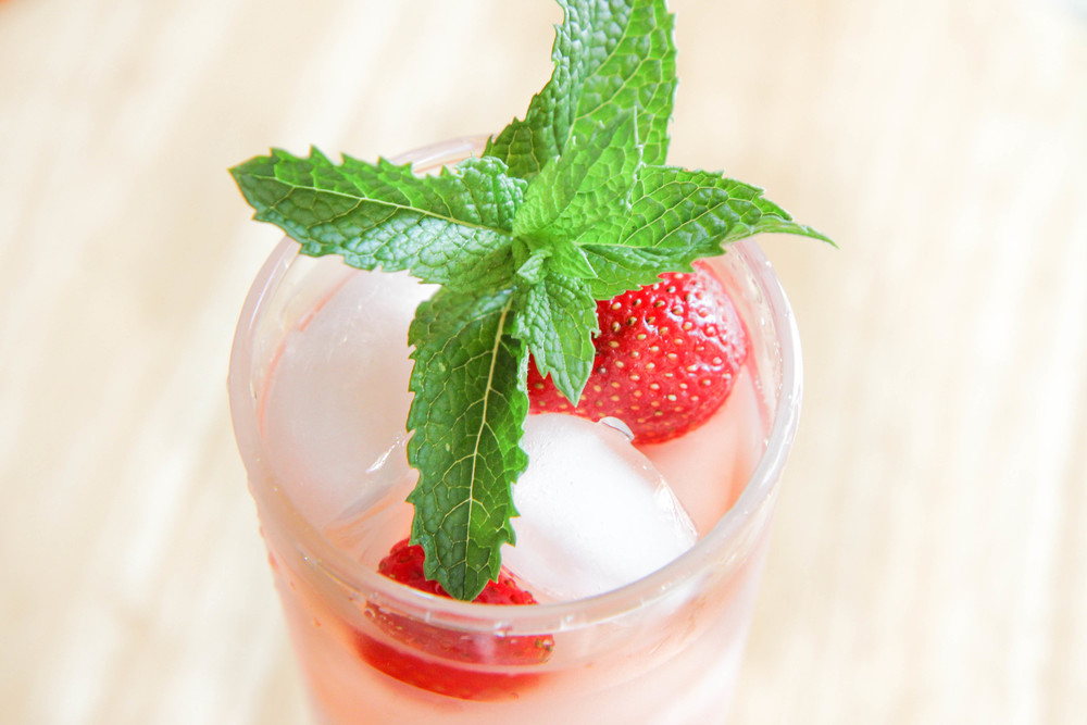 strawberry mint ice tea recipe