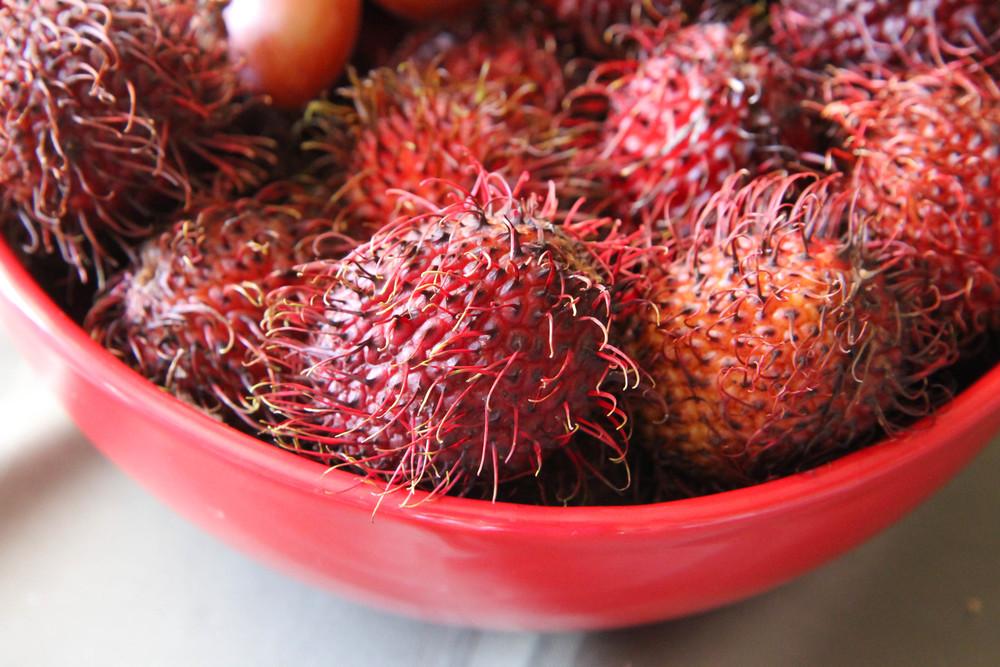 Chom Chom Rambutan Fruit Vietnam