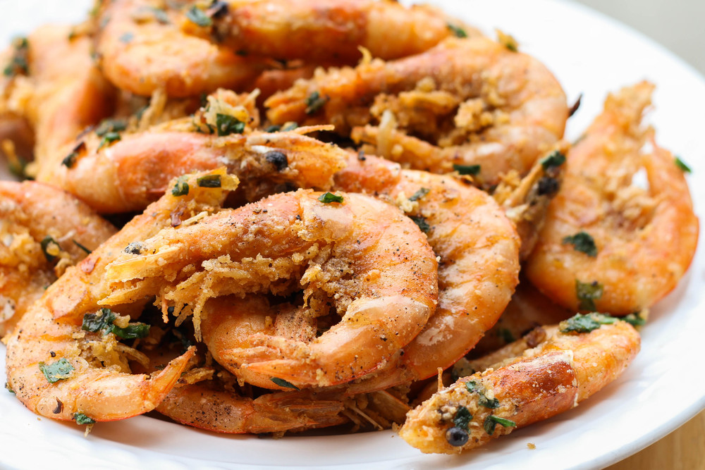 Vietnamese Salt & Pepper Prawns (Tom Rang Muoi)