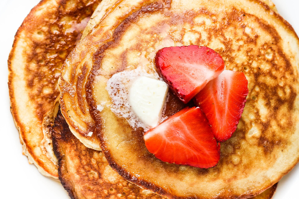 Light and Fluffy Sour Cream Pancake