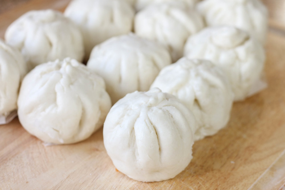 Vietnamese Steamed Pork Buns - Fluffy on the outside. Savory goodness on the inside.