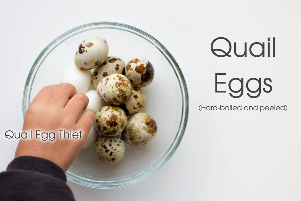 Quail Eggs are also a must in  Hu Tieu.  The kids looooooooooove them.