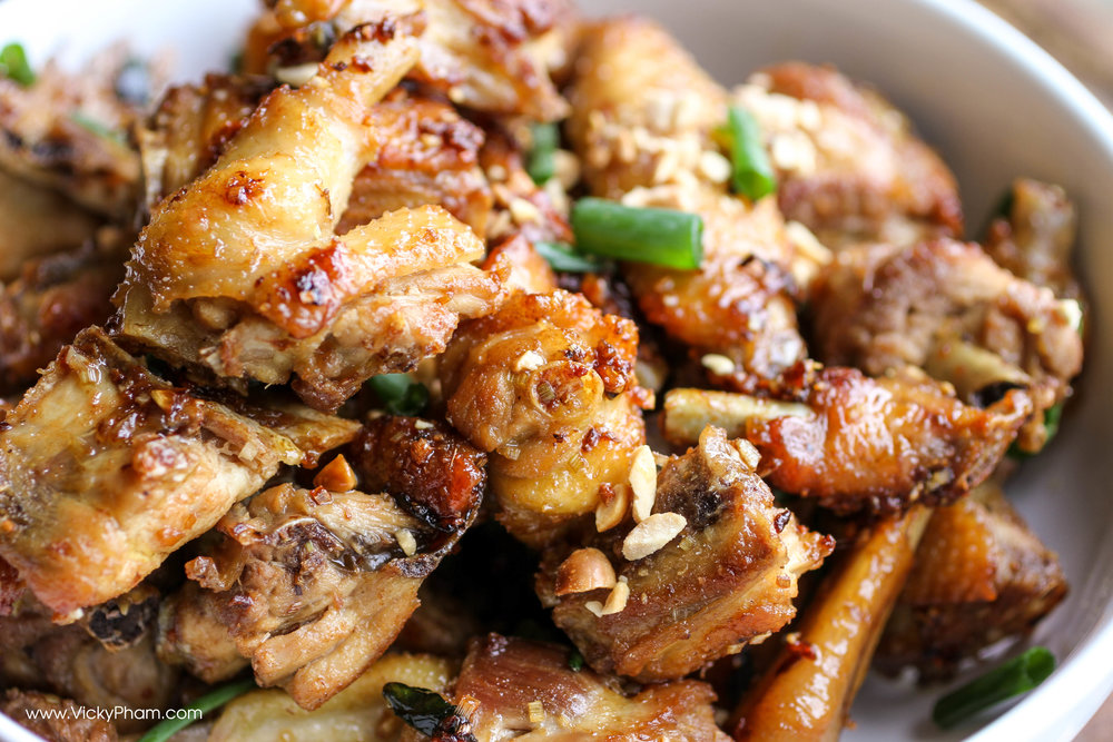Quick Vietnamese Lemongrass Chicken Recipe