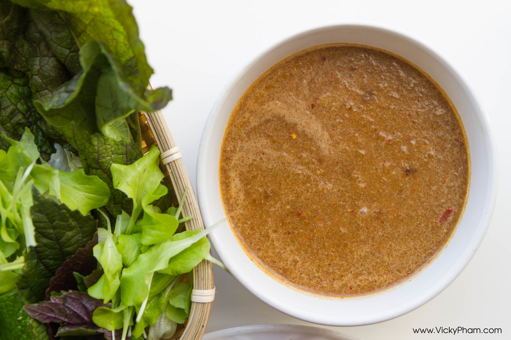 Vietnamese Fermented Anchovy Dipping Sauce - Mắm Nêm