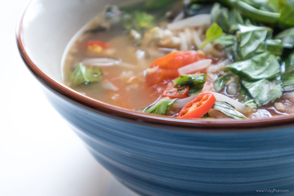 Vietnamese Sweet & Sour Catfish Soup (Canh Chua Ca Tre)
