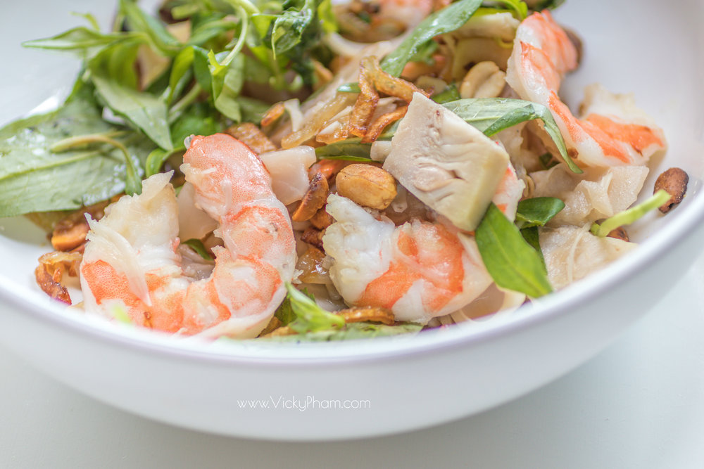Gỏi Mít Non Tôm (Vietnamese Young Jackfruit and Shrimp Salad)