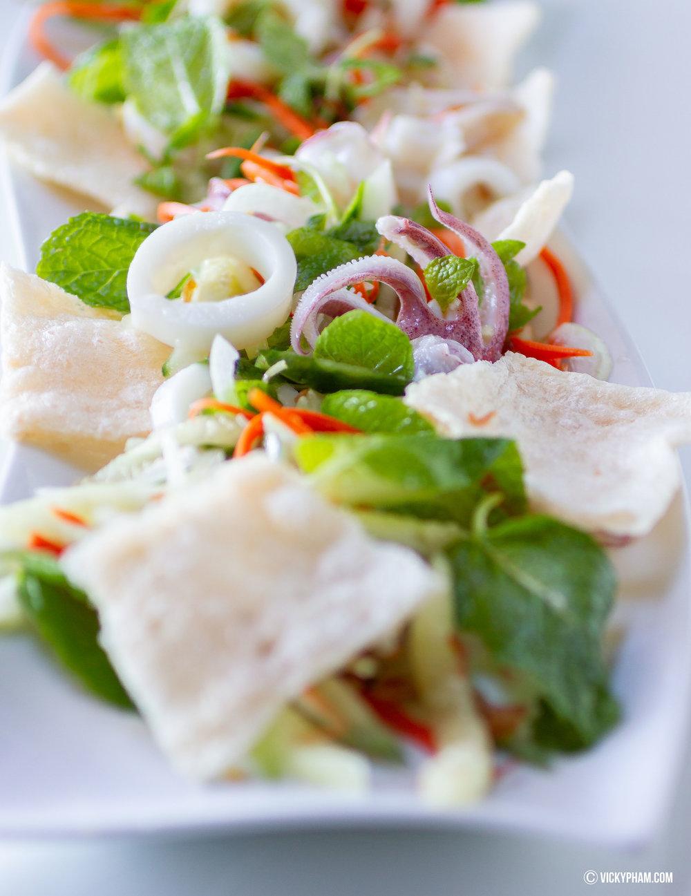 Vietnamese Squid Salad (Goi Muc)