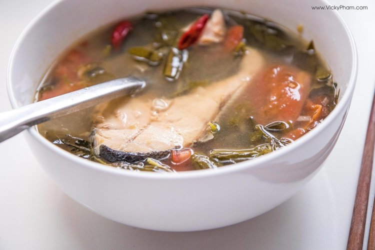 Vietnamese Pork Spare Rib Soup with Chayote (Canh Suon Nau