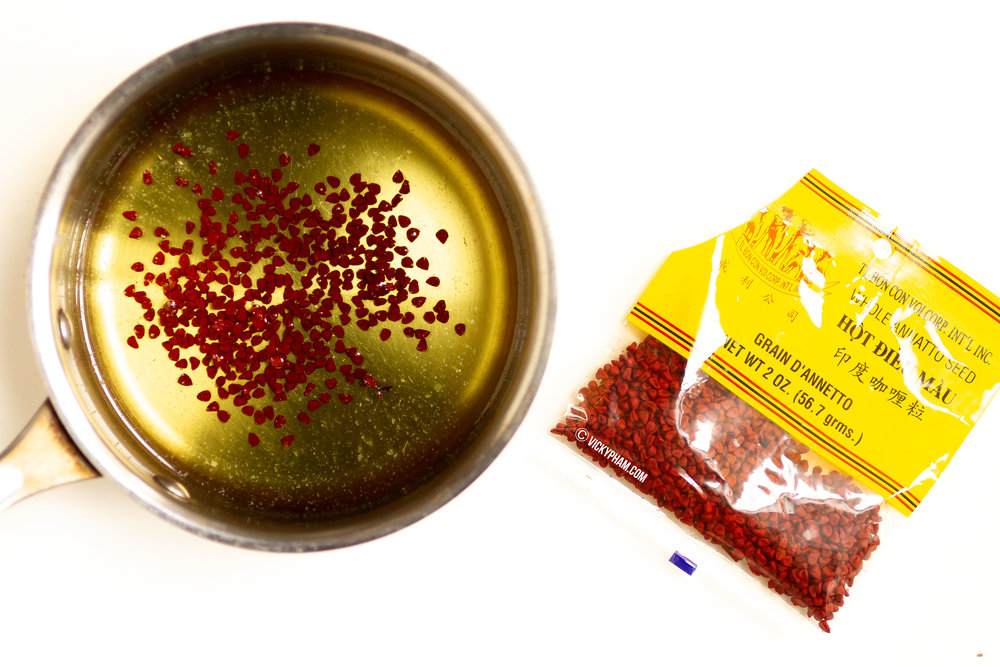Annatto Seed Oil (Dau Hat Dieu)