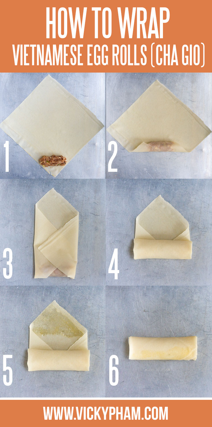 Step-by-Step Picture Guide: How to Roll an Egg Roll