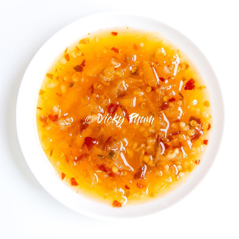 Vietnamese Ginger Fish sauce  (Nuoc Mam Gung)
