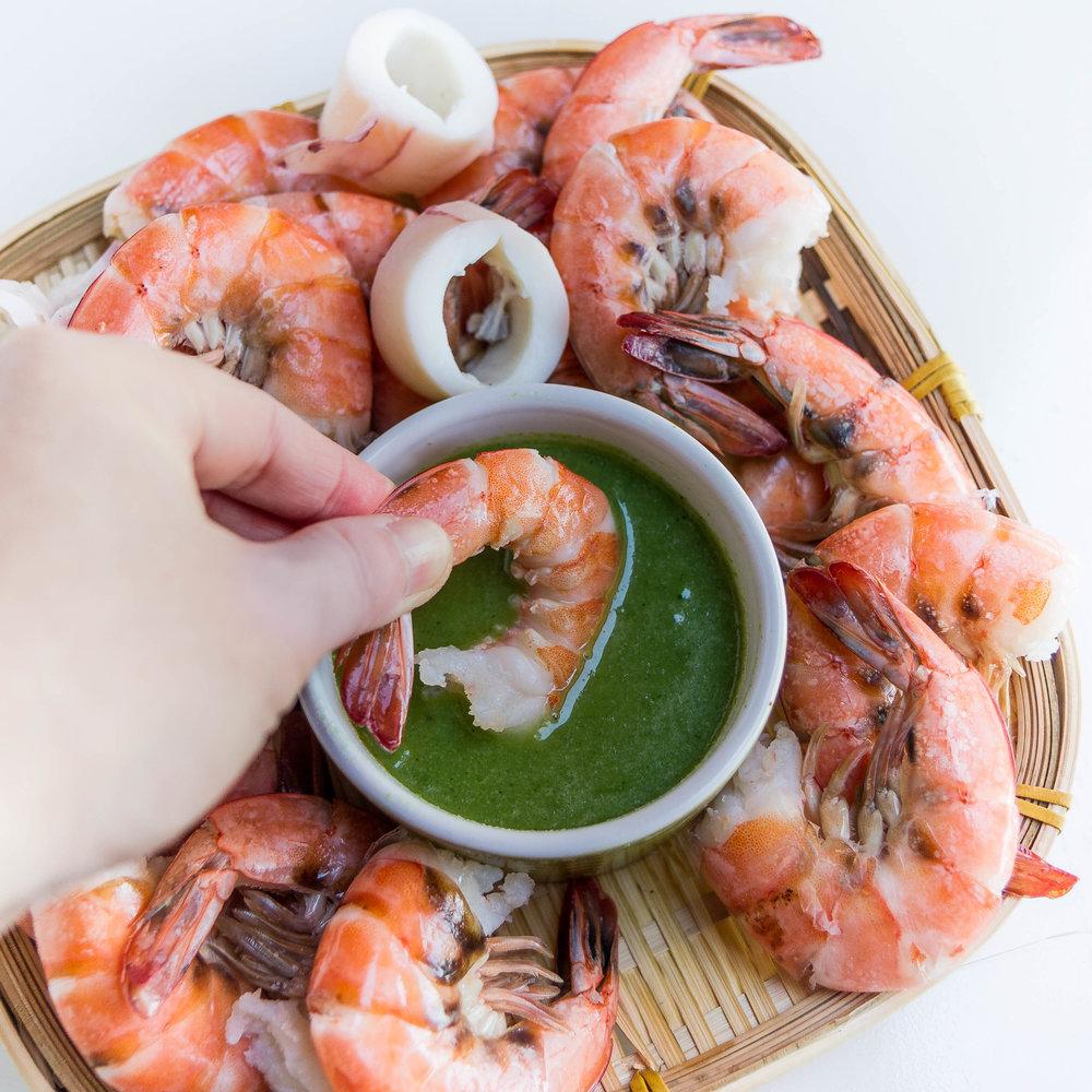 Vietnamese Green Seafood Sauce (Muoi Ot Xanh Cham Hai San)