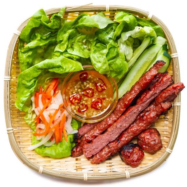 Vietnamese Grilled Pork Sausage (Nem Nuong) — Vietnamese