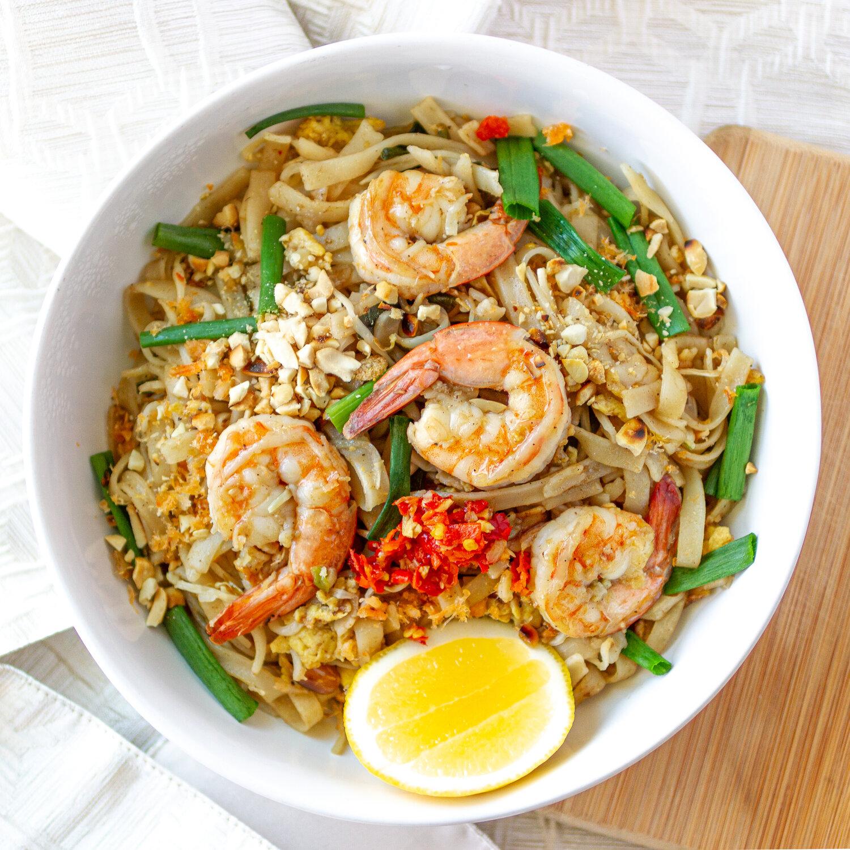 Easy Pad Thai Recipe Hủ Tiếu Phở Xao Thai Lan Vietnamese Home Cooking Recipes