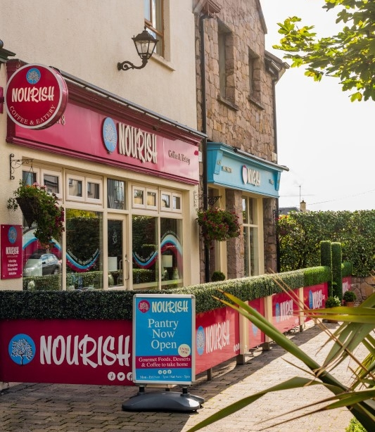 Nourish Coffee and Eatery including new Pantry, Barna, Co. Galway.
