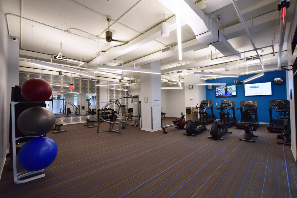 The Fitness Center at 1120 Vermont Avenue, NW