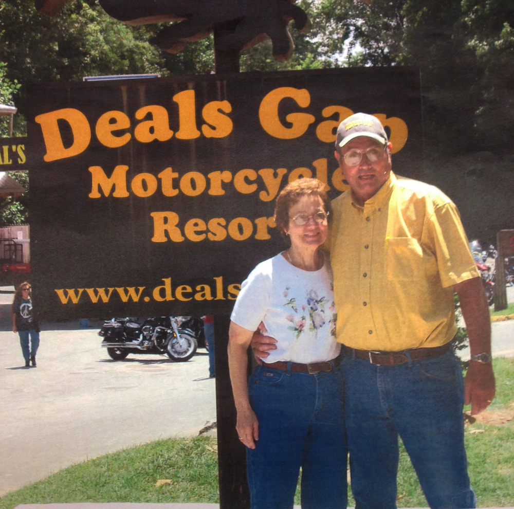 Phil and Joyce Humphreys at Deals Gap