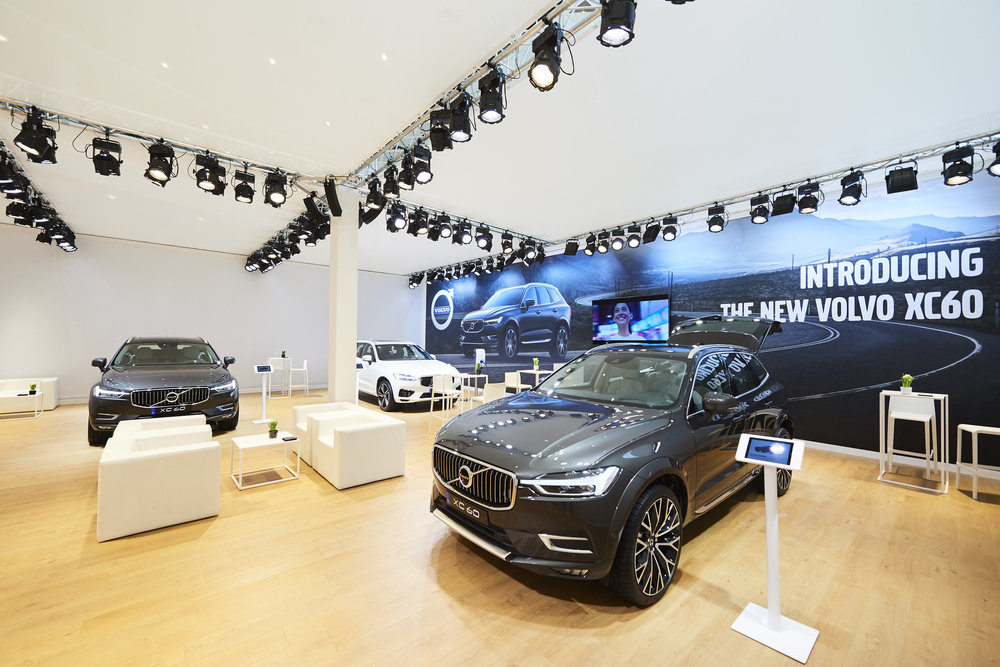 Volvo Exhibition Stand : Exhibition stand u new balls please event agency based in ghent