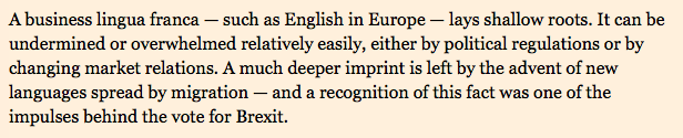 English is about to lose its crown in Europe
