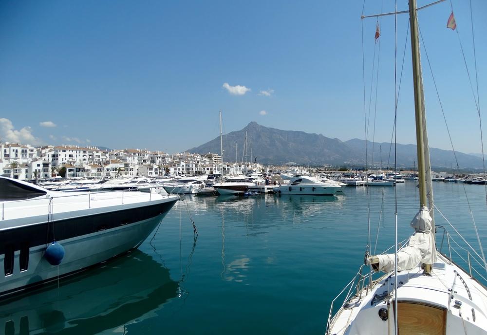 Puerto Banus' pleasure boats