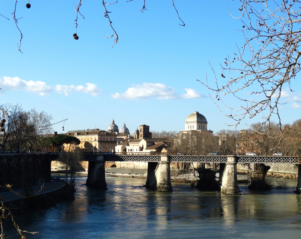 Over the Tiber
