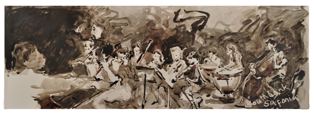 Umberto Clerici rehearses with Southbank Sinfonia, Ink.
