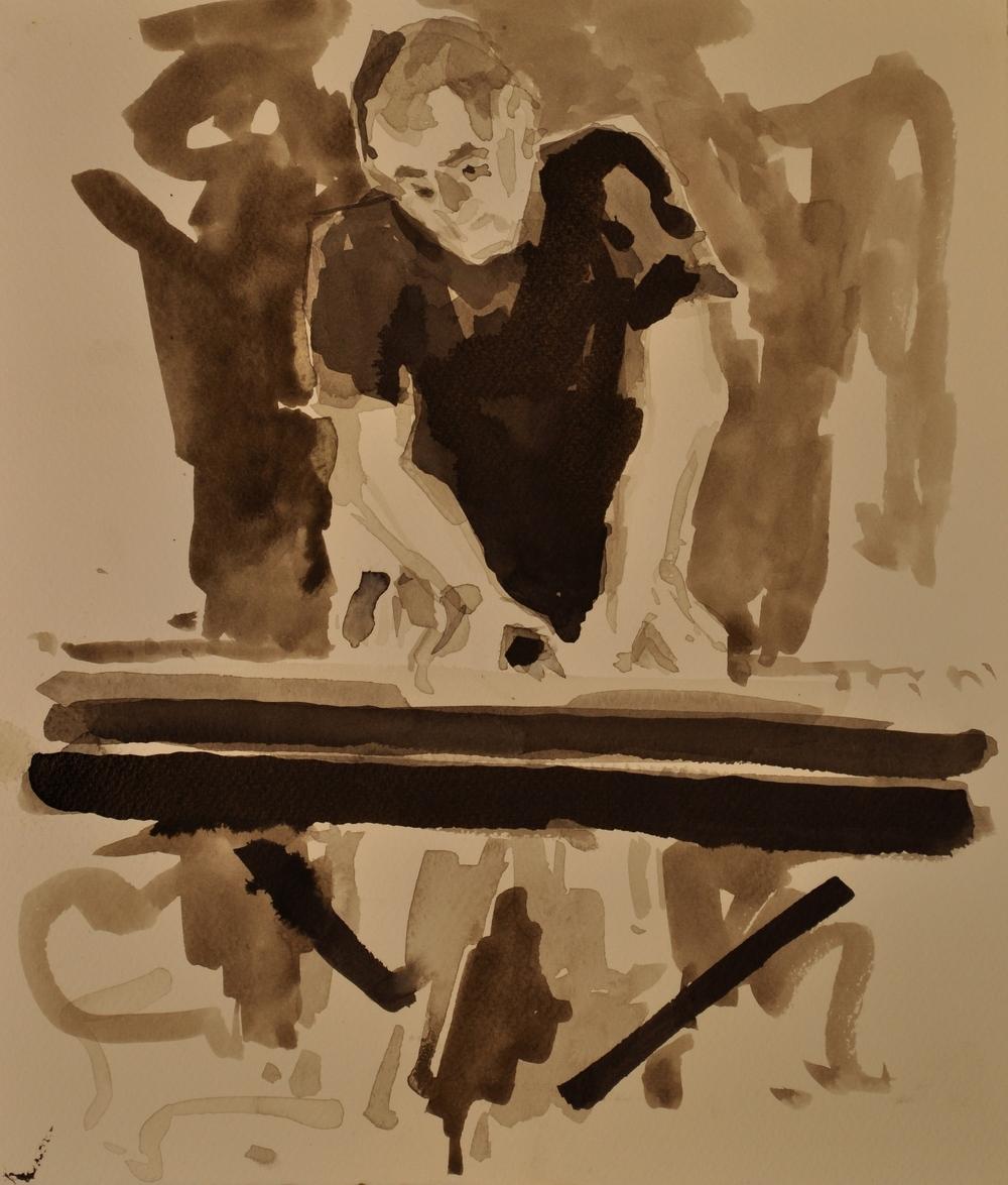 Ian Baker, Jesus Jones, Session Study