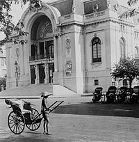 Saigon Opera House   in the early 20th century