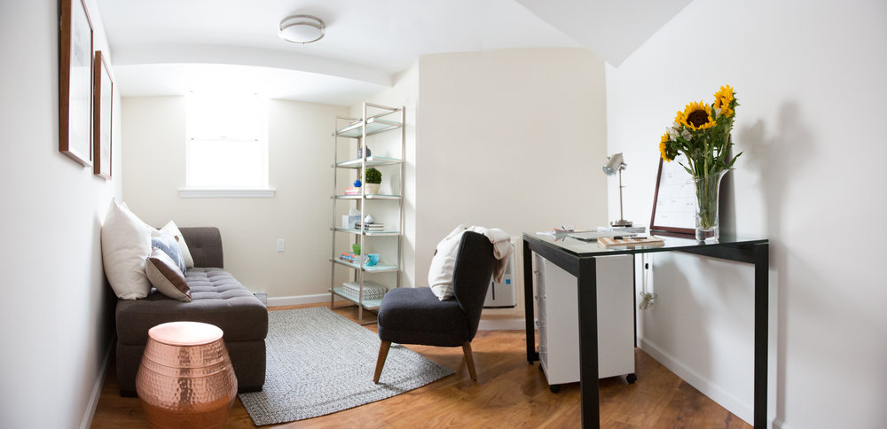 Mindful Matters, therapist office, Real Estate Photography