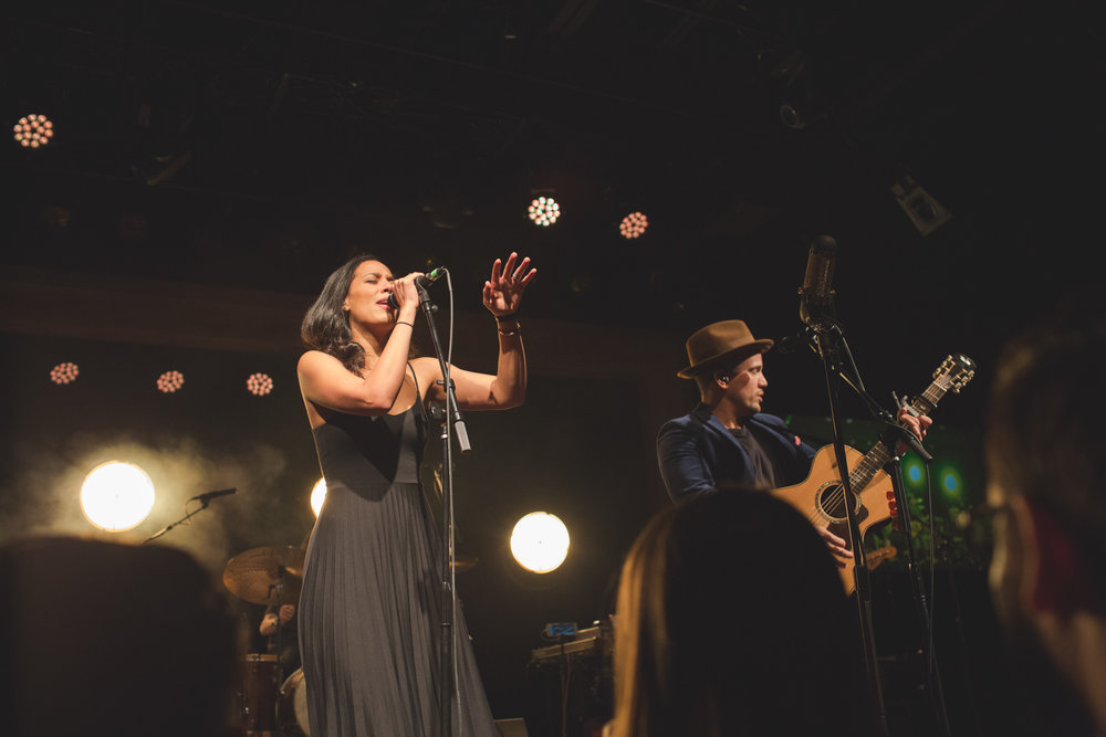 Taylor Lauren Barker JOHNNYSWIM at The Warehouse