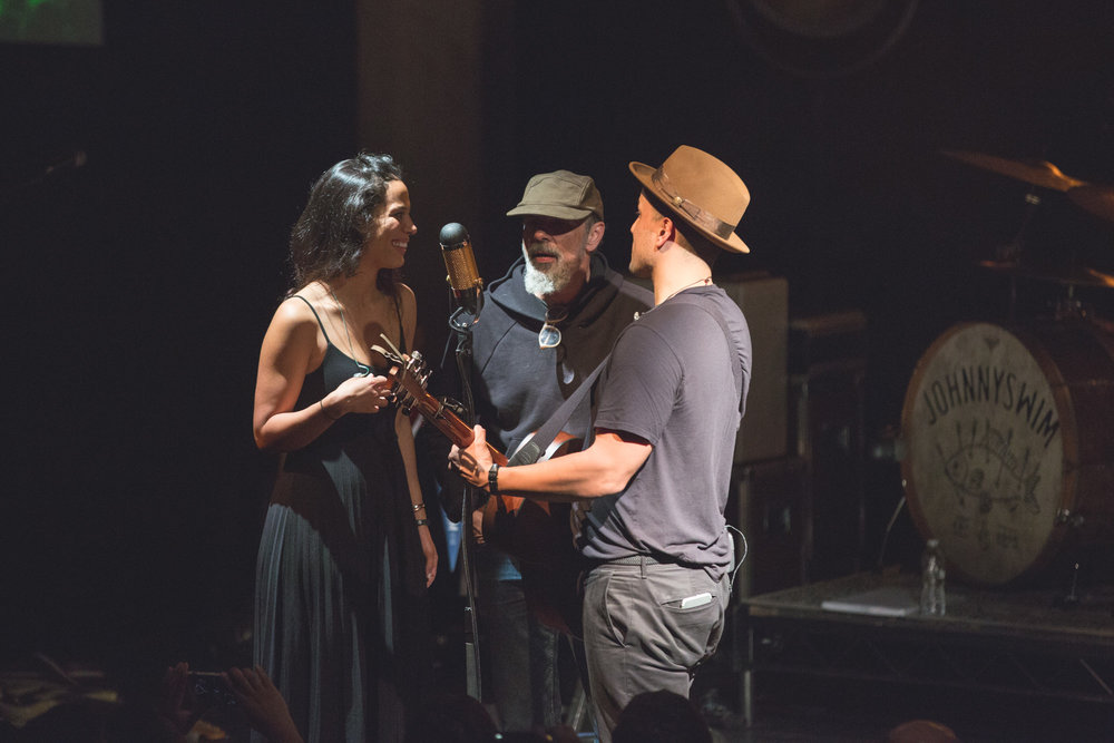 JOHNNYSWIM and Bruce Sudano at The Warehouse