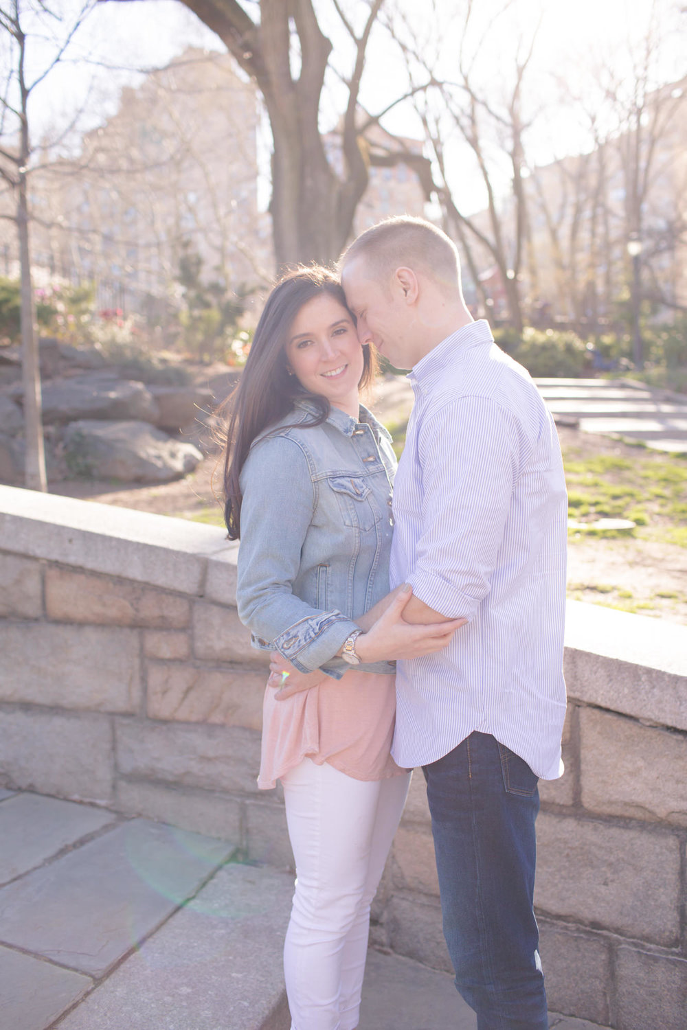 Alex & Alec - New York spring engagement