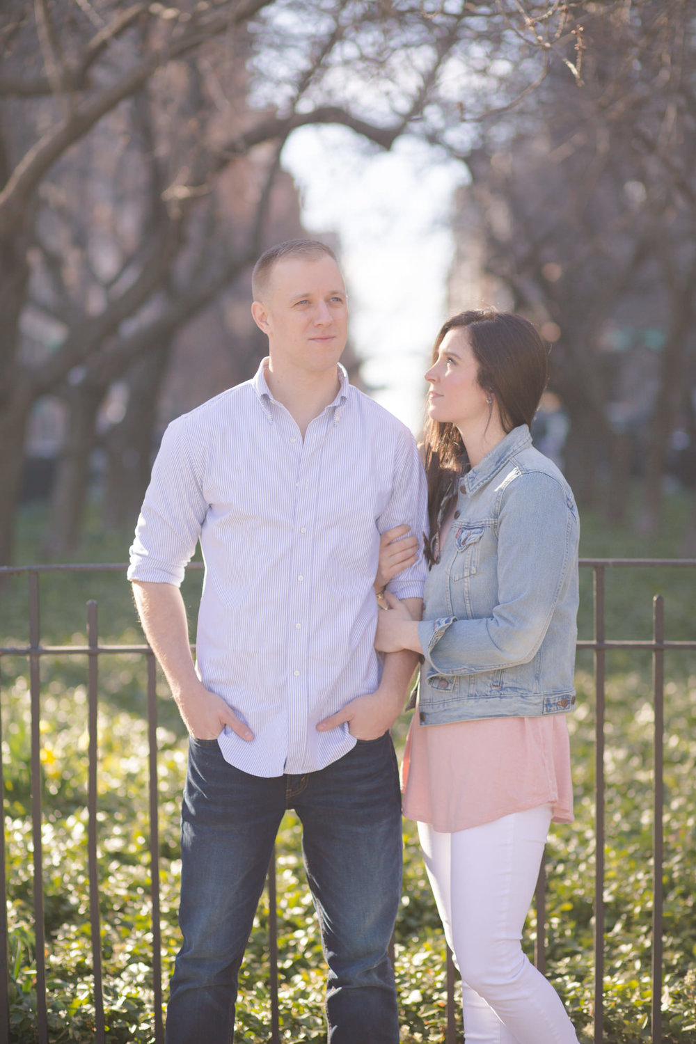 Alex & Alec - New York City engagement session
