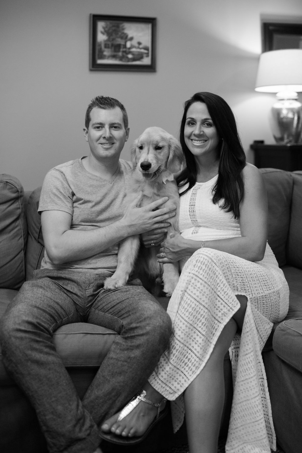 charleston-maternity-session-golden-retriever