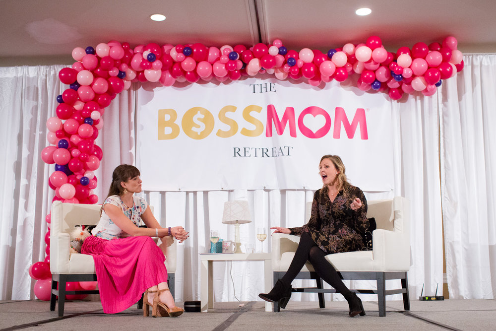 Dana Malstaff Stacy Tuschl boss mom retreat
