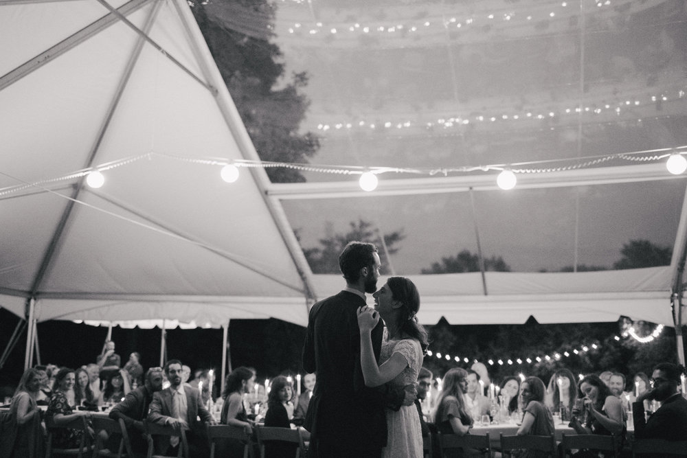 intimate-backyard-wedding-upstate-first-dance