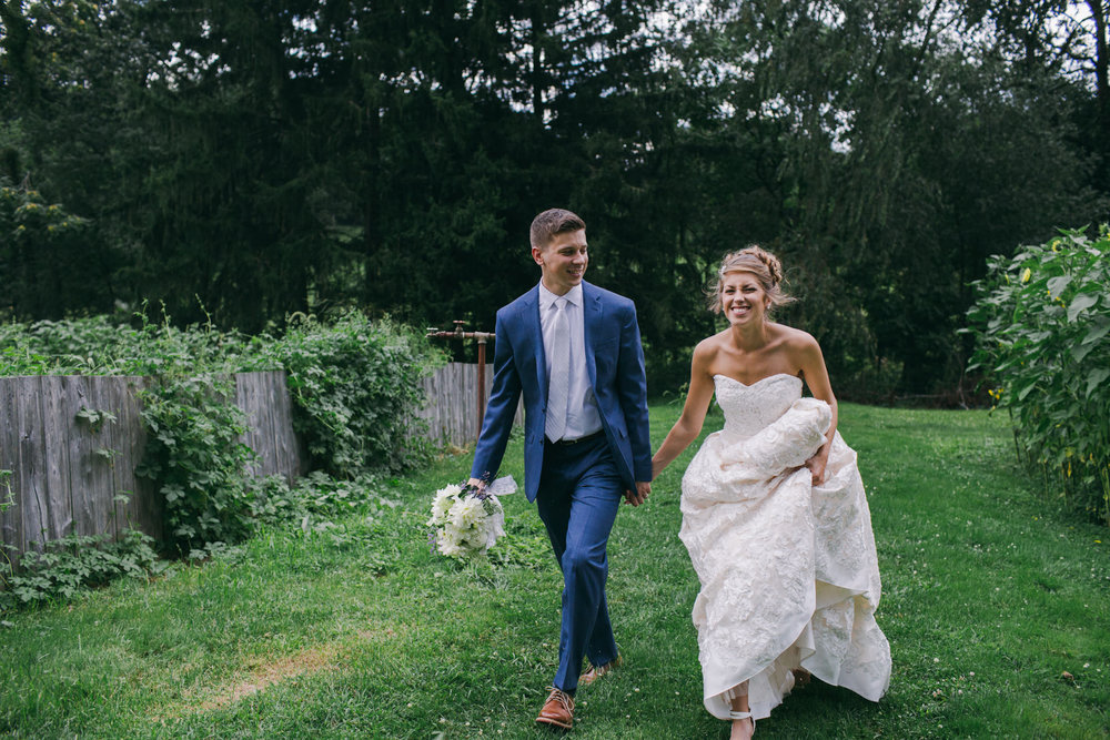 Mr. & Mrs. Bryan, the newlyweds