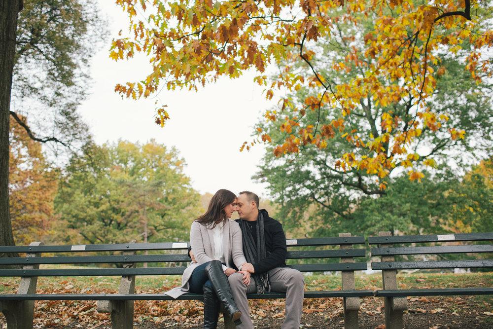 Taylor Lauren Barker / Central Park Engagement Session