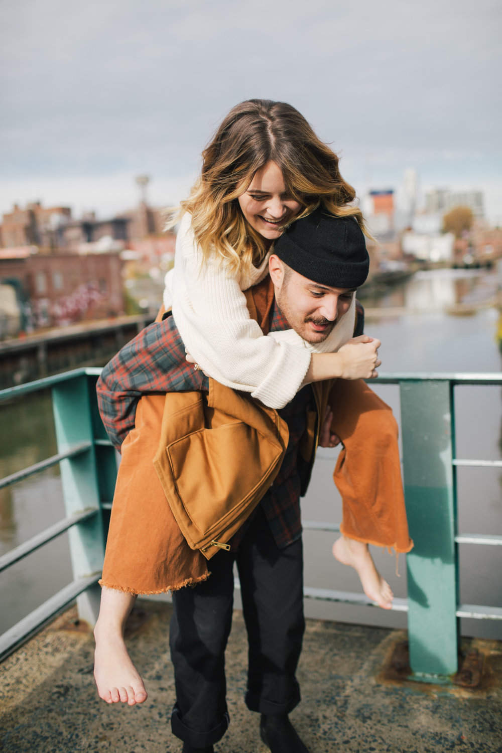 Brooklyn destination couples session adventure photographer