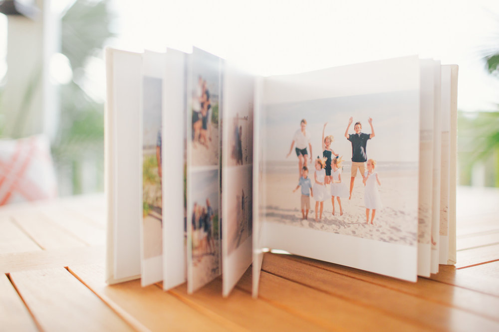 isle of palms charleston family photographer kiss books photo album