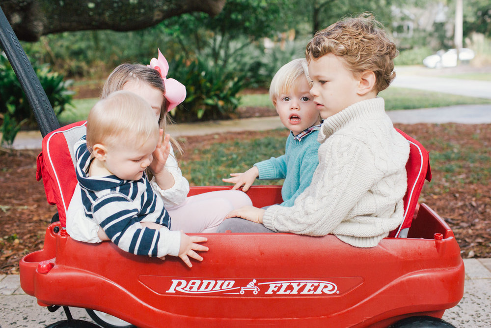 johns island family photographer radio flyer