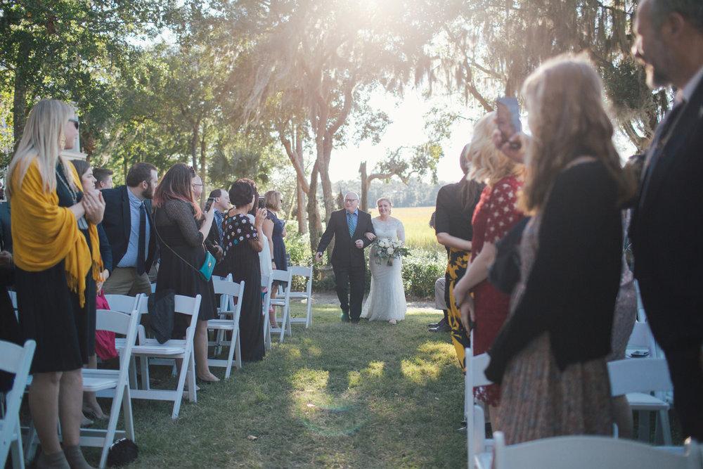 Lovecraft Events Charleston wedding Creek Club at I'On