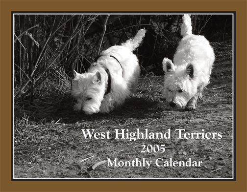 West Highland Terrier Calendar