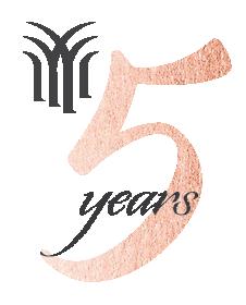 5 years logo gray.png
